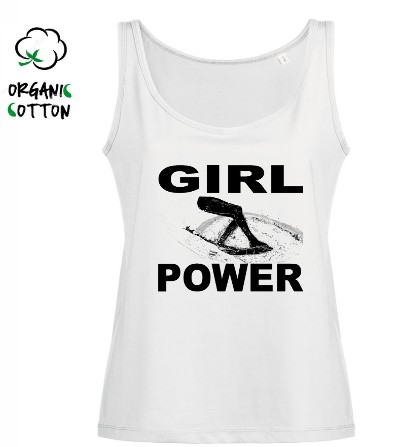 Camiseta surf tirantes chica GIRL POWER