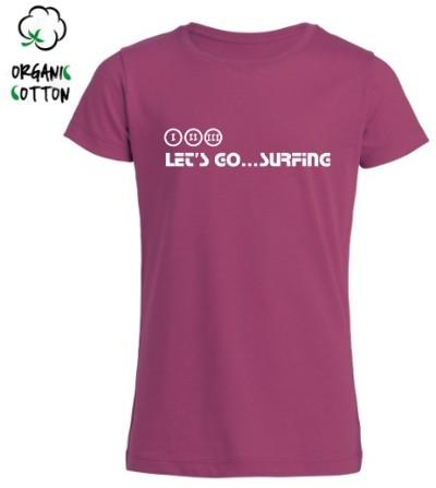 Camiseta Surf chica WAHINE
