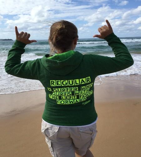 Camiseta Surf chica DUCK DIVING