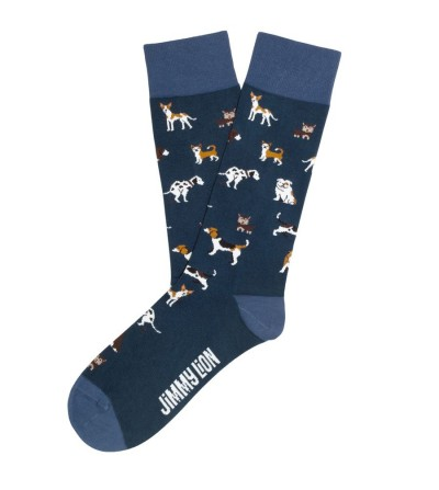 Calcetines DOGS azul