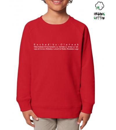 Jersey algodón orgánico niñ@s EUSKADIKO OLATUAK_STSK913-2164