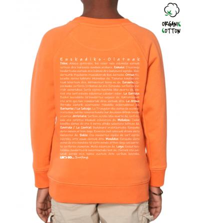 Jersey algodón orgánico niñ@s EUSKADIKO OLATUAK_STSK916-2341