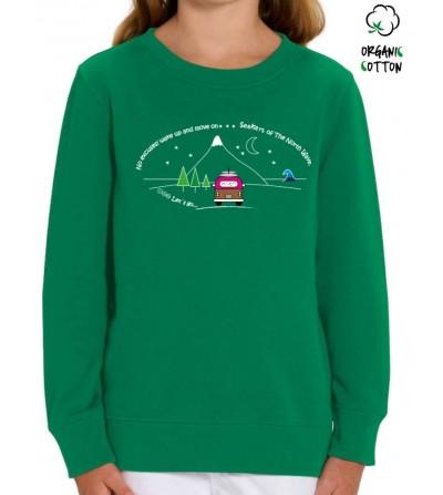 Jersey algodón orgánico niñ@s CAMPER_STSK913_V.GREEN_-2163