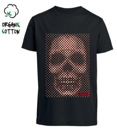Camiseta algodón orgánico CALAVERA