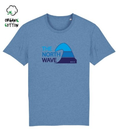 Camiseta tirantes surf GIRL POWER orgánica