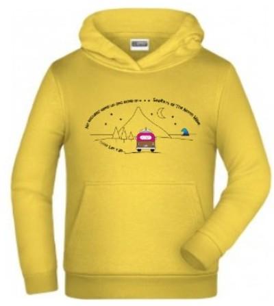 Camiseta capucha algodón orgánico niño BARREL